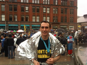 Running For Manchester Users Network in the Manchester 2011 10K