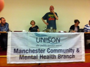 Service Users Backed by the Public Sector Union Unison!