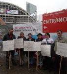 Taking The Fight Against The Cuts Manchester & Salford Staff & Servive Users Attend the Labour Conferance!