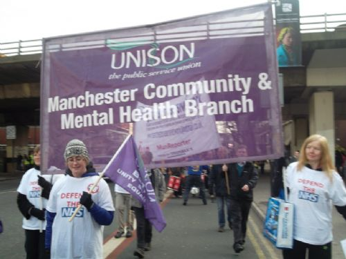 Unison MMH&SCT on The March 2012