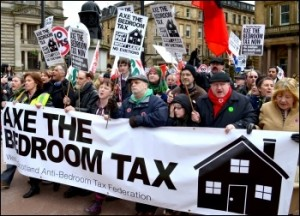 MUN SAY NO TO IDS & His  Wicked Bedroom Tax On Our Service Users!
