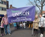 Demo Against Mental Health Services Cuts in Salford Trafford and Bolton (11)