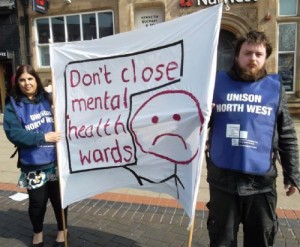 Demo Against Mental Health Services Cuts in Salford Trafford and Bolton (6)