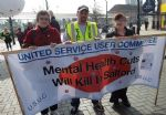 Demo Against Mental Health Services Cuts in Salford Trafford and Bolton (8)