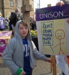 Demo Against Mental Health Services Cuts in Salford Trafford and Bolton (9)