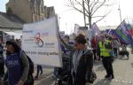 Demo Against Mental Health Services Cuts in Salford Trafford and Bolton