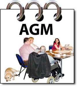 ANNUAL GENERAL MEETING (AGM) TODAY the 21st May 2014 1.30pm.