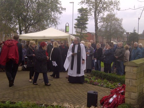 Remberance day newton heath 2014