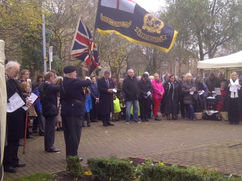 rememberance day newton heath 2014 1