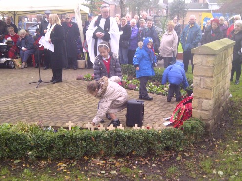 rememberance day newton heath 2014