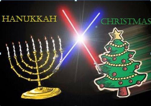 happy Christmas & Happy Hanukkah