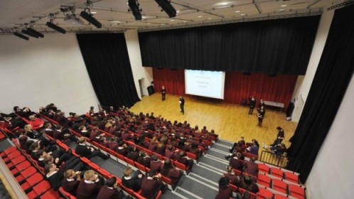 school hall bbc chessington  community college