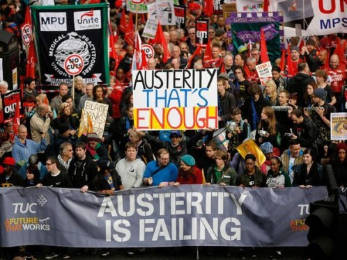 Austerity Thats Enough London 18 th Oct 2014 Pay rise