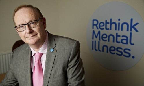 Mark Winstanley, chief executive of Rethink Mental Illness