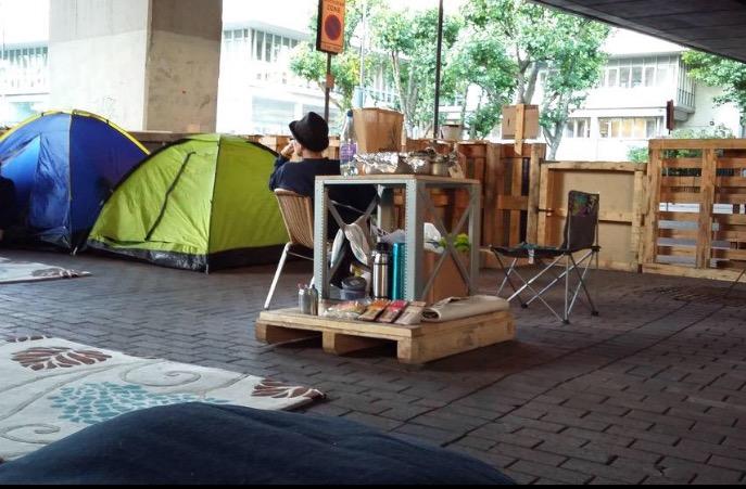 Manchester Homeless camp