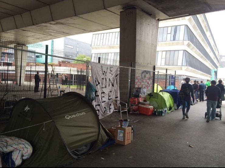 homelesscamp Manchester