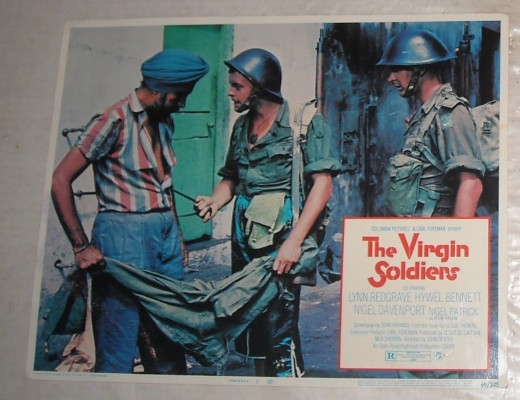 The Virgin Soldiers Poster from the 1969 Classic film