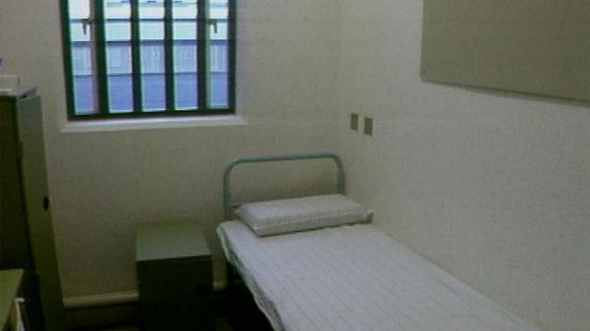 Police Cell Bed mental health