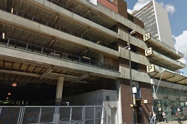 Man comes down from city centre car park multi-storey after two-hour stand-off