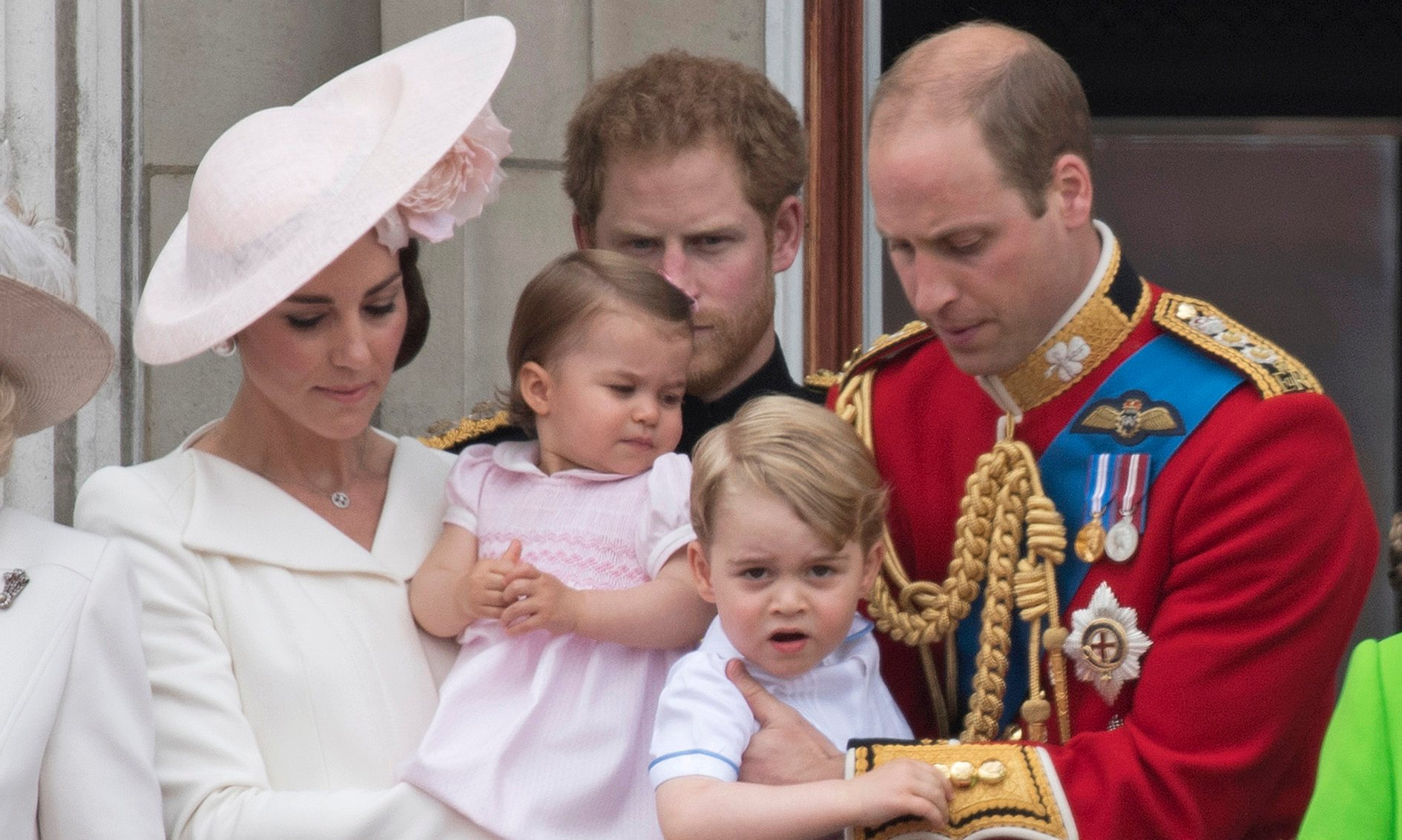 prince William with family