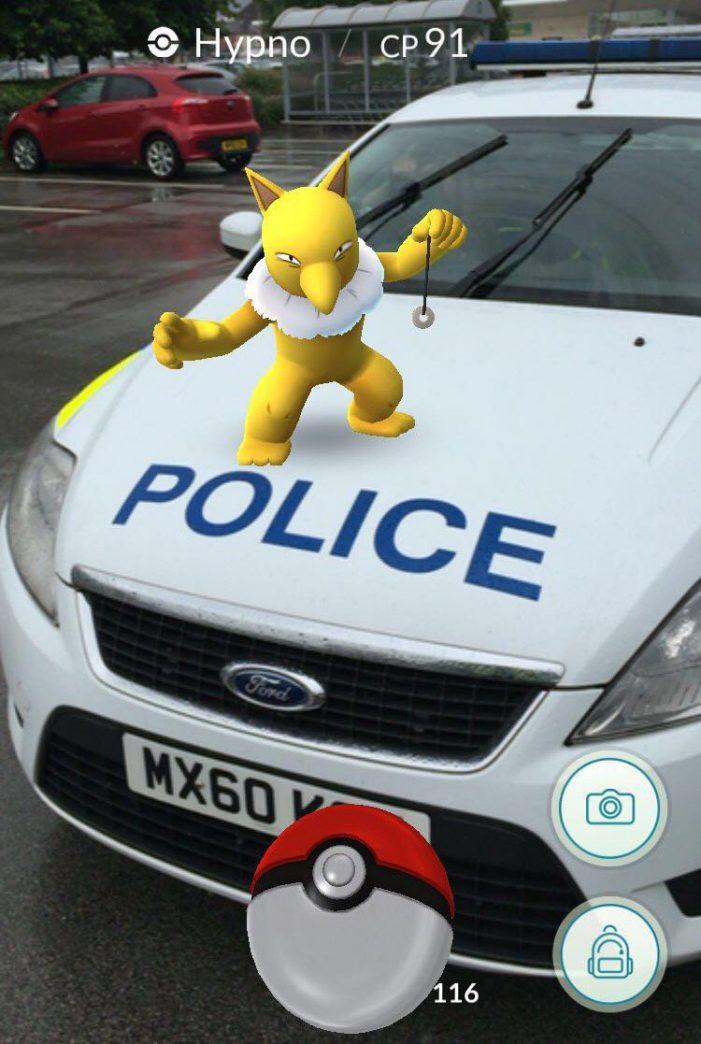Police warn of the dangers of Pokemon Go to children