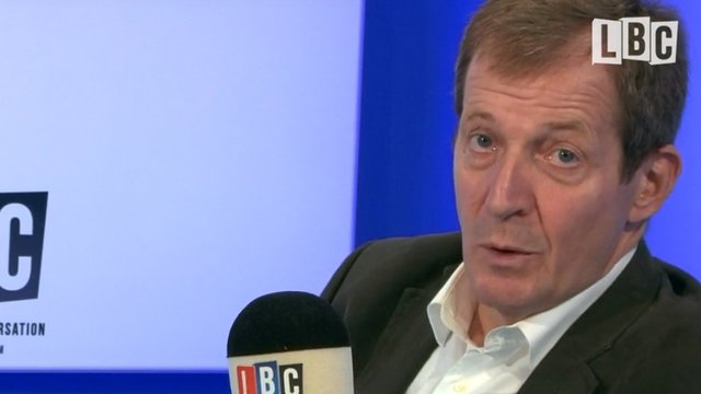 Alastair Campbell talked candidly to Maajid Nawaz about his mental health issues (Listen Here)