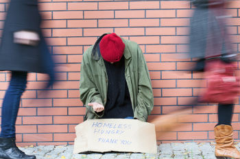 Homeless people being denied mental health services