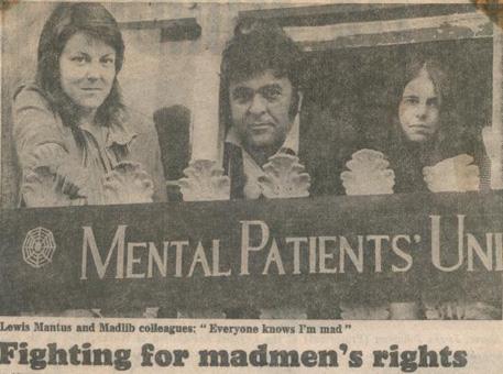 The Mental Patients Union, 1973