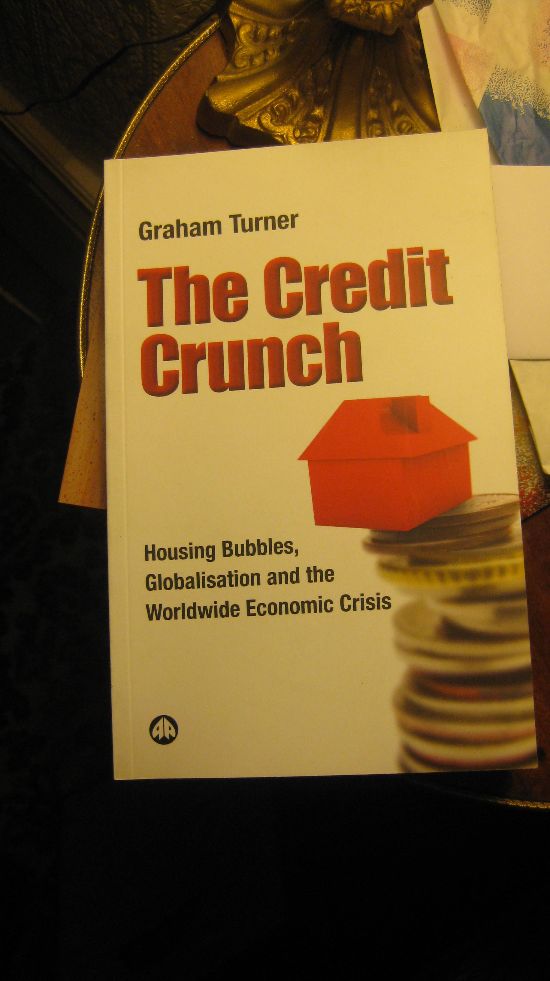 THE CREDIT CRUNCH COMING SOON BY STAFF REPORTER SIMON PETERS