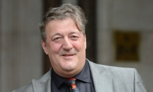 Stephen Fry helps others by talking openly about his ongoing battle with mental illness!