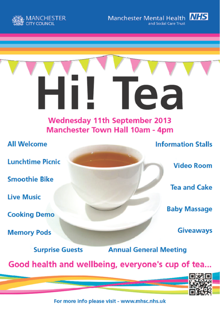 Manchester Mental Health & Social Care Trust Annual General Meeting (AGM) September 11Th 2013