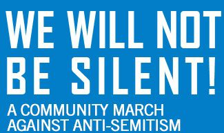 RALLY COME & JOIN US: MUN  GIVES SUPPORT TO STAND AGAINST ANTI SEMITISM