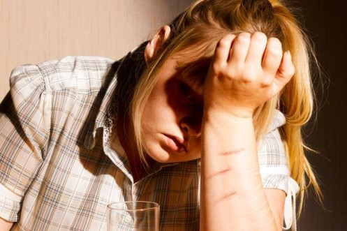 Hospital admissions for self-harm almost double the national average
