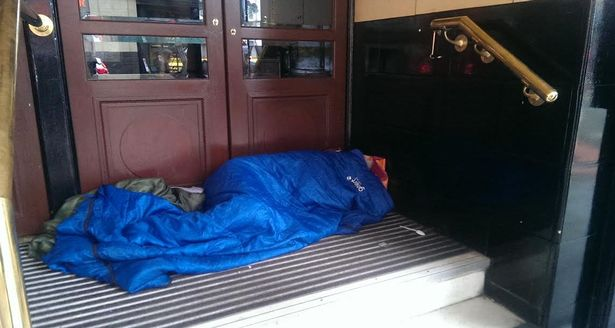 One freezing morning in Manchester, meet the people sleeping rough on our streets
