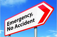Emergency no accident