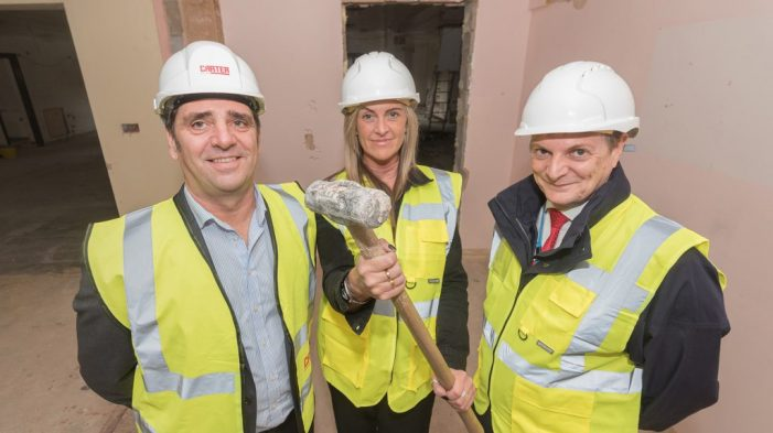 Work on county's first psychiatric intensive care unit in full swing