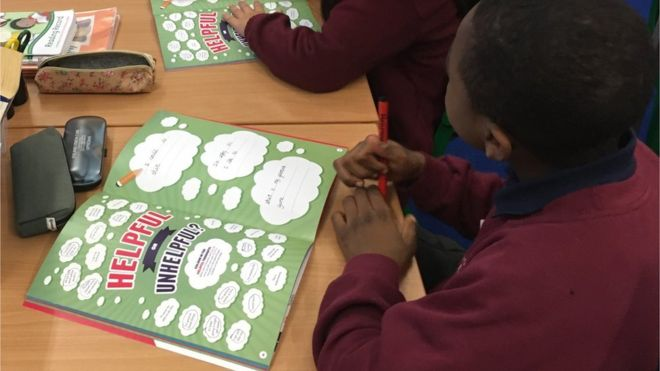 Teaching primary school children about mental health