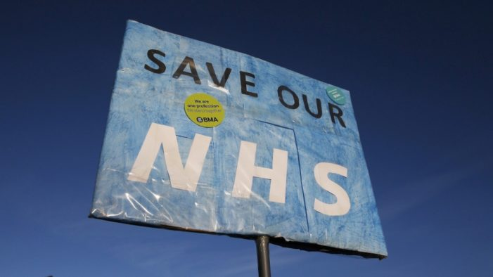 Red Cross warns of humanitarian crisis in UK hospitals