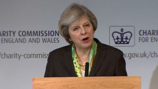 Mental health problems are everyone's problem Prime Minister Theresa May gives speech on shared society, the government's role within it and how to transform mental health support