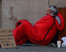 Rough sleepers exposed to mental health 'crisis' on London streets