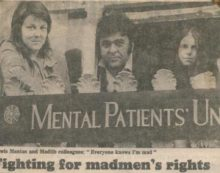 The Mental Patients Union, 1973