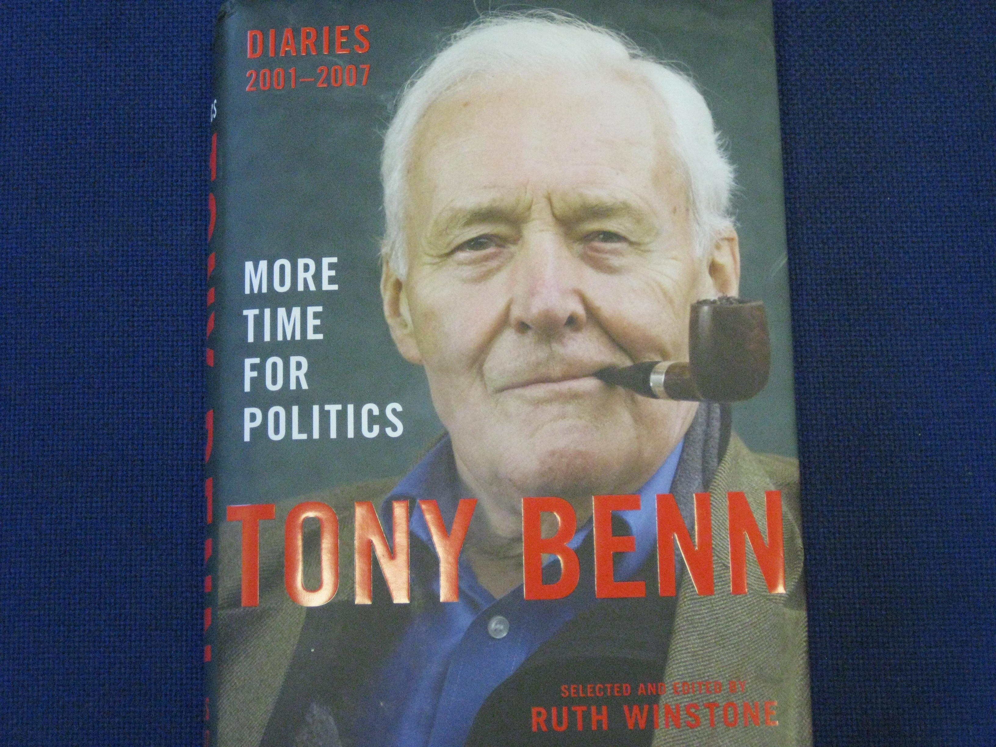 Signed Books Giveaway! Comment and Win! books signed by Tony Benn